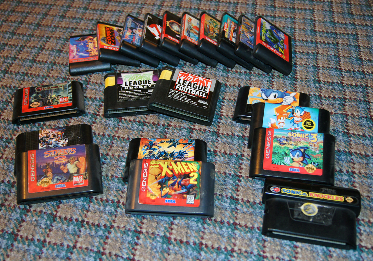 old sega games for sale