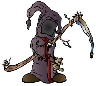 Lil Grimmy Reaper Color Test