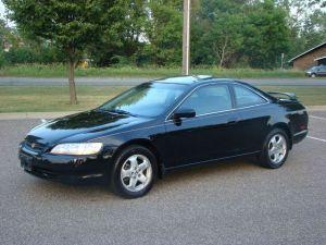 Black-1995-Honda-Accord-LX-Front-Left-View