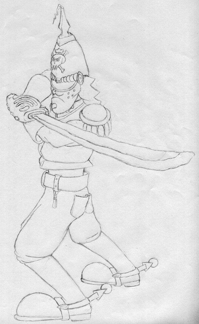 Skirmish with Sword