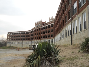 Outside of Waverly Hills