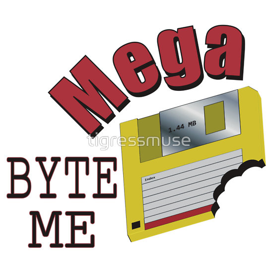 Mega Byte me shirt design