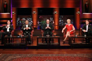 The cast of Shark Tank