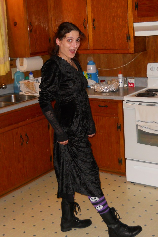 2011: My witch dress, complete with boots. I actually wore this dress to my high school freshmen homecoming. A good dress can be worn for many occasions!