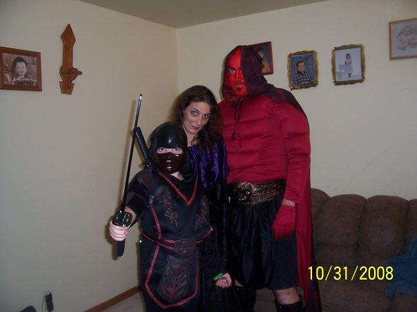 Death ninja, grim reaper, devil