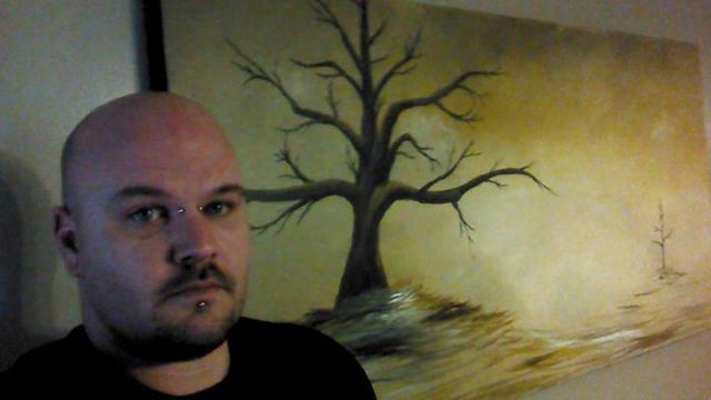 Artist Ron Knight