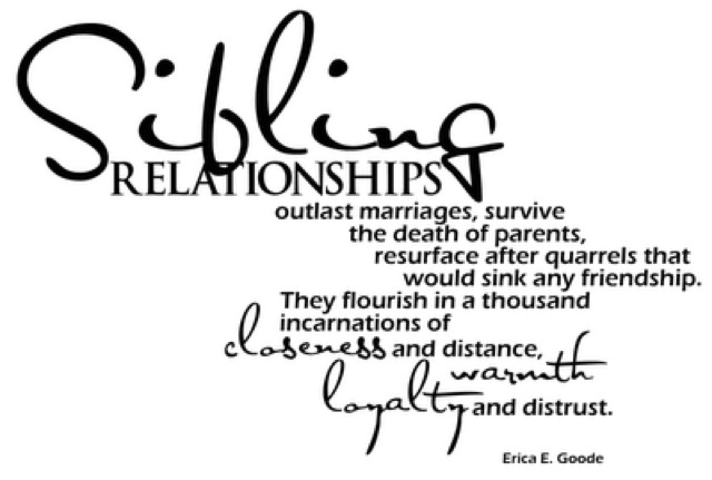 quotes about siblings - photo #28