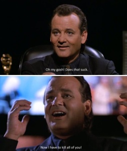 Billy Murray Scrooged