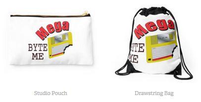 Mega Byte Me bags