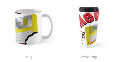 Mega Byte Me cups