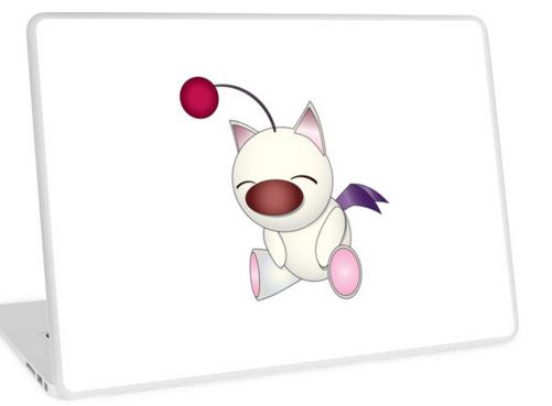 Moogle laptop skin